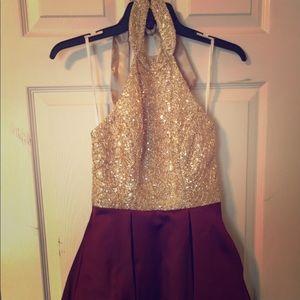 Formal dress HoCo, winter formal, sorority ball